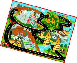disney cars rug mt fuji edition toys w lightning mcqueen toy