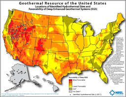 geothermal energy map. Modren Map Geothermal Conditions Map On Energy H