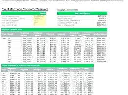 Loan Amortization Calculator Template Excel Example 858