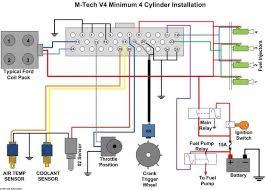 need help on wiring up a m tech v4 ecu here s a wiring diagram i have