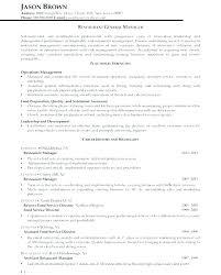 Resume Samples General Restaurant General Manager Resume Sample We Adorable Restaurant General Manager Resume