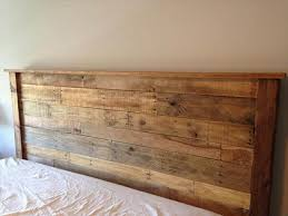 King size wood headboard Ana White Afundesigncom Diy King Sized Pallet Wood Headboard Pallet Furniture Diy