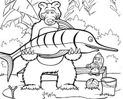 Giochi Di Masha E Orso Da Colorare Fredrotgans