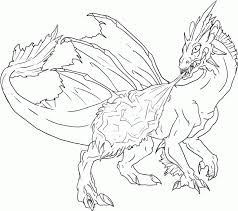Fire Dragon Coloring Pages - Coloring Home
