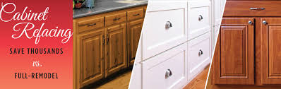 cabinet refacing reface white kitchen