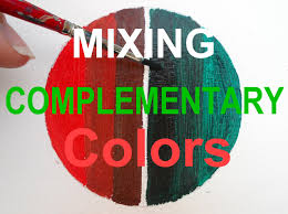 Oil Painting For Beginners Mix Complementary Colors Red And Green Mixing Colors Green And Red