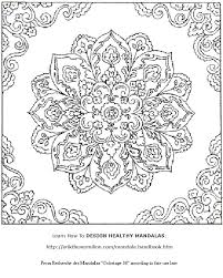 Small Picture Mystical Mandala Coloring Book Pdf Coloring Pages