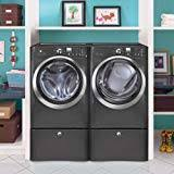 electrolux stackable washer and dryer. Unique Stackable Electrolux Laundry Bundle  EIFLS60LT Washer U0026  EIMED60LT Electric Dryer WPedestals  Titanium Intended Stackable And C