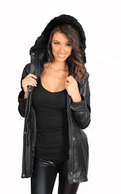 detachable hood with fur trim zip fastening with flap cover ruched waist design feature which snuggly fits around your