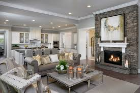 Great Room Great Room Parade Of Homes Valiant Homes Open Kitchen And Great