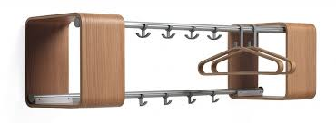 Wall Mounted Coat Hanger Rack Coat Hook Wall Mounted With Modern Stainless And Wooden Wall Mounted 27