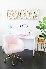 via office chairs. DIY Fur Chair Makeover (via Abeautifulmess) Via Office Chairs W