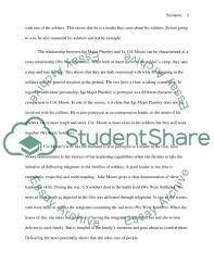 we were iers movie on leadership essay example topics and  we were iers movie on leadership essay example