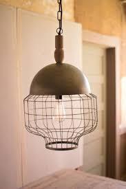 new pendant lighting. Large Size Of Lighting, Wood And Metal Pendant Lights Inspirational Kalalou Caged Light With New Lighting H
