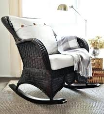 rug under rocking chair. rocking chairs ikea adorable black rattan chair deign with white pillow and upholster gray rug under
