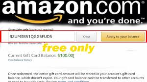 amazon gift card codes 2019 update how to get free amazon gift card codes 100 working 100