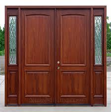 Brilliant Double Front Door With Sidelights 2 Panel Exterior Doors In 0 To Innovation Design