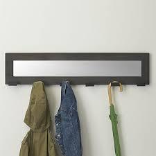 Wall Mounted Coat Rack With Mirror Coat Racks Outstanding Wall Mounted Coat Rack With Mirror Wall 1