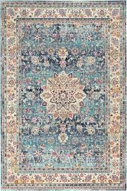 teal and gray rug vintage blue gray black and teal area rugs