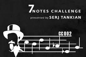 Serj Tankian Creative Armenia Release 7 Notes Challenge