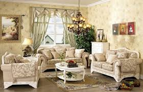french country living room decorating