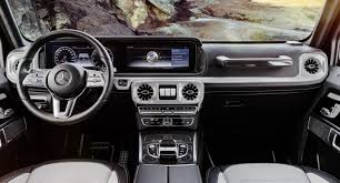 The two box design is crafted by optimizing dimensions and proportions. 2018 G Class Interior Will Go On Sale In The U S By Late 2018