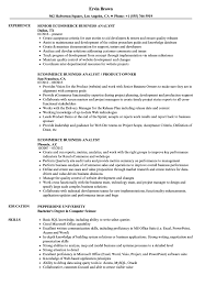 Ecommerce Analyst Sample Resume Ecommerce Business Analyst Resume Samples Velvet Jobs 4