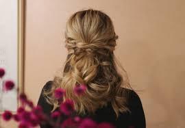 自分で簡単にモテ髪が作れちゃう結婚式のお呼ばれにぴったりなハーフ