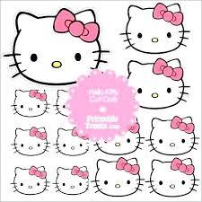 Printable Hello Kitty Invitations Personalized Collection Hello Kitty Printable Birthday Card Pictures