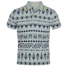 Patterned Polo Shirts