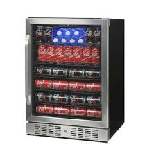 92 bottle wine and 177 can built in beverage cooler