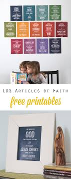 Lds Articles Of Faith Free Printables Its Always Autumn