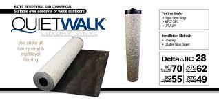 quietwalk luxury vinyl underlayment for vinyl plank flooring mp global products