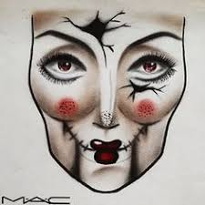 Image Result For Halloween Makeup Face Charts Makeup Face