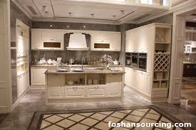 good quality classic solid wood kitchen cabinet