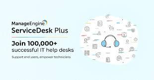 It Service Desk Software Manageengine Servicedesk Plus