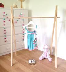 Baby Clothes Display Stand Childrens Clothes Rack Wooden Clothing Rack Costume Rack 30