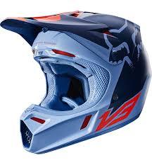 2018 Fox V3 Libra Helmet Blue