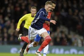 Always proud to wear the scotland shirt . Scott Mctominay One Step Closer To Committing To Scotland Onefootball