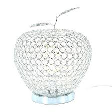 droplet table lamps lamp crystal with glass flowers candelabra modern apple bedroom shade