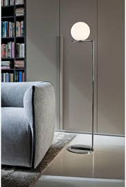 Flos Ic Lights F1 Floor Lamp In Chrome By Michael Anastassiades