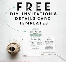 Free Rustic Wedding Invitation Templates Template Business