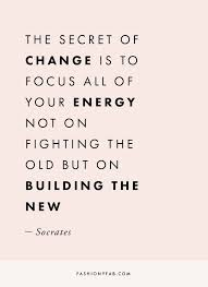 Change Quote Interesting The Secret Of Change Quote Inspirational Quote Motivation