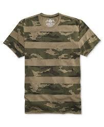 Mens Camo Stripe T Shirt Created For Macys