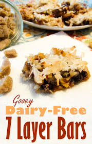 dairy free seven layer bars recipe an ooey gooey vegan treat with