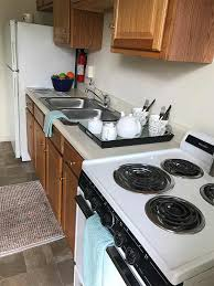 stove and sink in wyomissing garden apartment kitchen