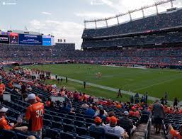 Denver Invesco Field Seating Chart Broncos Stadium At Mile High Section 118 Seat Views Seatgeek