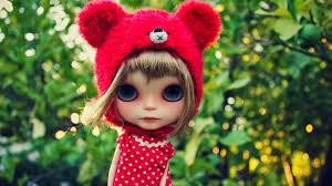 Cute doll 4K Wallpapers