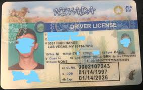 Fake Ids Nevada-front – Gold Id All About