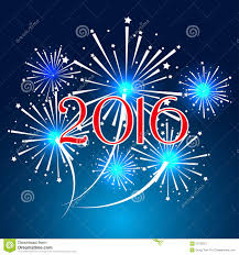 happy new year 2016 with fireworks. Fine New Download Happy New Year 2016 With Fireworks Holiday Background Stock Vector   Illustration Of Banner Throughout Y